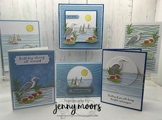 Stamping Moments: Lilypad Lake Stamp Class