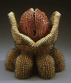 Beautiful Floral Sculpture by Jennifer Maestre  (13)