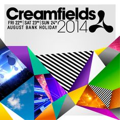 Creamfields 2014 Line-up Announced August Bank Holiday, Holiday 2014, Bank Holiday Weekend, Creamfields Festival, Festival Posters, Global Gathering, Cream Fields, Theater Tickets, Musica