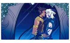Voltron x The Dragon Prince with Lance as a Sun Elf and Keith as a Moonshadow Elf Voltron Klance, Voltron Comics, Voltron Memes, Voltron Fanart, Form Voltron, Voltron Ships, Shiro Voltron, Keith Kogane, Keith Lance