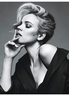 """Woody's Women - Rachel Mcadams """"I'm crazy about Rachel,"""" said Allen of the star of this year's Midnight in Paris. """"I have great adoration and lust and interest in all of the women in my films. It would thrill me to go out with all of them."""""""