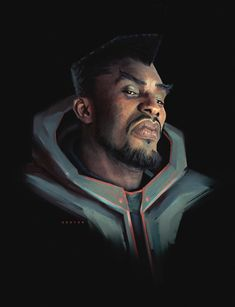 The amazing digital art - Character design practice - September 2018 - Week. Character Concept, Character Art, Character Design, Concept Art, Fantasy Portraits, Character Portraits, Male Portraits, Call Of Cthulhu, Black Characters