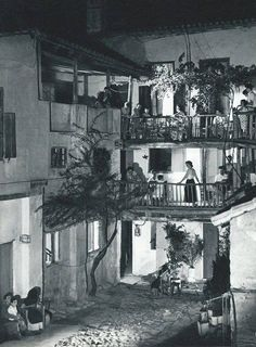 Plaka, Athens in the 60's