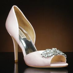 BADGLEY MISCHKA NIKKI Wedding Shoes and NIKKI Dyeable Bridal Shoes WHITE