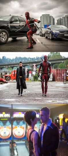 DEADPOOL: 3 NEW PHOTOS FROM THE FOX-MARVEL MOVIE