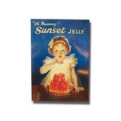 Cartel metálico publicidad antigua - Las Marystrastos