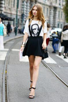 t shirt street style - Buscar con Google
