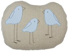 birds pillow // k studio