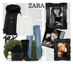 """Classy Zara Saturday Night!"" by fashionaddict-il ❤ liked on Polyvore featuring ASOS, Pomax, Nicki Minaj, Roberto Cavalli, Zara, women's clothing, women's fashion, women, female and woman"