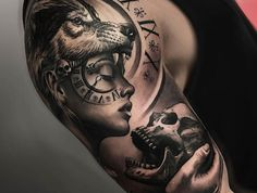 60 Sick Wolf Tattoo Designs for Men - Manly Ink Ideas - # .- 60 Sick Wolf Tattoo Designs für Männer – Manly Ink Ideen – … 60 Sick Wolf Tattoo Designs for Men – Manly Ink Ideas – shape - Wolf Girl Tattoos, Arm Tattoos For Guys, Lower Back Tattoos, Tattoo Wolf, Men Arm Tattoos, Wolf Tattoo Sleeve, Grey Tattoo, Sick Tattoo, 3 Tattoo