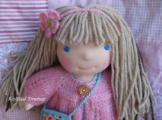 Your place to buy and sell all things handmade Sweet Hug, Doll Toys, Dolls, Dream Doll, Mohair Sweater, Light Hair, Pale Skin, Tiana, Puppets