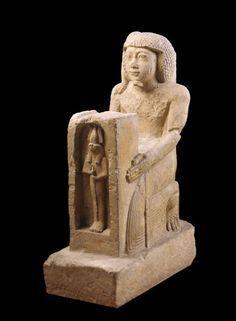 Statue of Prince Shesonq, ca. 874-850 B.C. Egyptian