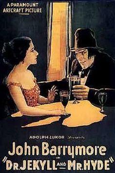 El hombre y la bestia  (1920). Dr. Jekyll and Mr. Hyde