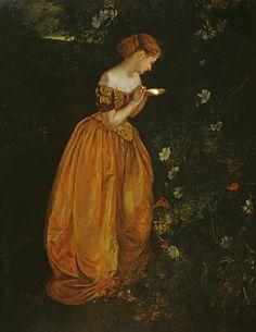 23silence:  Annie Louisa Swynnerton - The glow worm
