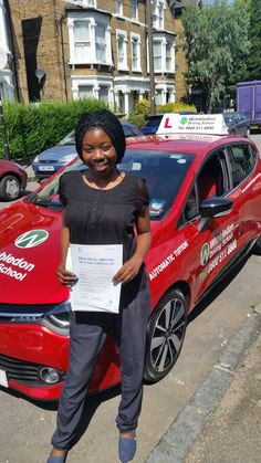 Well done to Joy from Streatham Hill who passed her test in Mitcham.