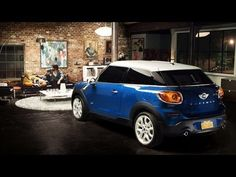 New MINI Paceman Ad- the race home in the minis is a reflection of real life