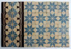 original 1930's tile gorgeous   the antique floor company