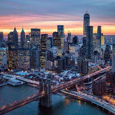 New York City Feelings - City lights by @ch3m1st   @flynyon