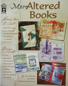 CIJ TAKE 20% OFF Paper Crafts Altered Books: More Altered