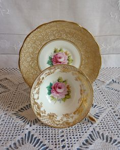 Vintage Hammersley Cabinet Cup and Saucer ---> mismatch