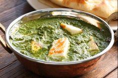 Recette de Palak paneer, Le plat indien végétarien par excellence, réalisé à partir d'épinards et de fromage.