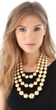 Adia Kibur Layered Ball Necklace | SHOPBOP