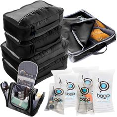 With Bago Travel Packing Cubes Value Set For Travel You Are Ready To Neatly Pack, Be Organized And Find Any Item in a Jiffy Sort And Find Your Things In A Flash. Pack your business attire in one cube, your swimwear in the other, casual clothes in the next, and so on.