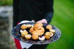 Canapes at Suzanne and Andrew's wedding at the Red Door Country House, Fahan, Co. Photo by Donal Doherty Photography. Civil Wedding, Donegal, Canapes, Wedding Receptions, Wedding Ideas, Doors, Weddings, Country, Red