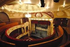 Interior of Theatre Royal, Hobart; Australia's oldest theatre, still operating.