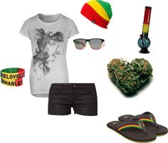 """Rasta"" by misskayluhmarie on Polyvore"