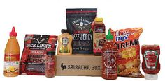 Awesome 'Sriracha Box' Contains All Of The Best Hot Sauce-Infused Snacks - DesignTAXI.com