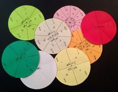 A fun way to model fractions. Fraction Foldable with Decimal and Percent. Whole, 1/2's, 1/3's, 1/4's ,1/5's, 1/6's, 1/8's and 1/10's fractions are included. I like to keep all of the circles together with a brad in the center.