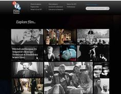 The British Film Industry's Explore Film web page uses a strange brand of Mystery Meat Navigation. Best Web Design, Film Industry, Mystery, British, Explore, Meat, Learning, Studying, Teaching