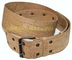 Cork Belt (model RC-GL0104003001) - Eco-friendly - made of real cork. From www.corkfashion.com