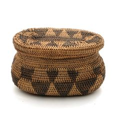 Africa | Basket from the Lozi people of Zambia | ca. 19th century