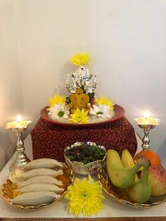 Ganesha Rangoli, Ganpati Decoration Design, Bal Krishna, Worship, Gold Jewelry, God, Table Decorations, Home Decor, Fashion