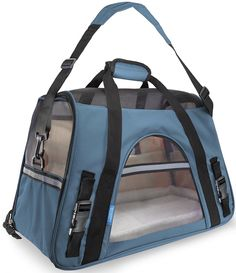 OxGord Airline Approved cat Carriers w/ Fleece Bed For Dog and Cat -- See this great image  : Cat Cages, Carrier and Strollers