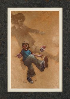 He Shoots, He Scores by Craig Davison. Available at www.artworx.co.uk