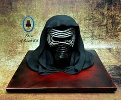 Kylo Ren - Star Wars The Force Awakens - Cake by Slice of Sweet Art