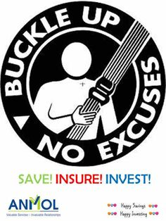 Buckle up! No excuses anymore! #RoadSafety #Save #Insure #Invest - for a #Happier & Brighter #Future :)