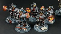 Warhammer Age of Sigmar | Stormcast Eternals | Retributors #warhammer #ageofsigmar #aos #sigmar #wh #whfb #gw #gamesworkshop #wellofeternity #miniatures #wargaming #hobby #fantasy