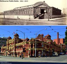 CITY BATHS - MELBOURNE 1862 - 2015