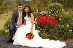 Tracey & John in the rose garden in the field.....flowers are in full effect mid september! @Khimaira Farm outdoor wedding venue rustic barn wedding goat farm wedding Luray VA Shenandoah Valley Blue Ridge Mountains