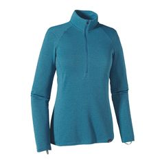 The Patagonia Women's Capilene® Thermal Weight Zip-Neck helps turn up the heat. It's our warmest, most breathable polyester baselayer with minimal bulk.