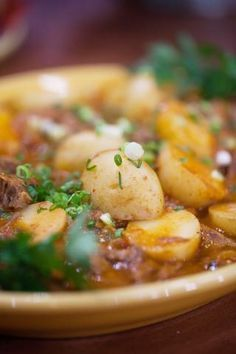 Not only is it loaded with steak and potatoes, this Mexican stew is loaded with flavor – thanks to the guajillo chiles and tomatillos.