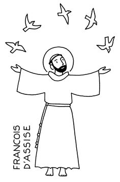 Five Page Catholic Coloring Book of Saints for the Feast of All Saints. (The names are in French)  Includes Saint Augustine,  Vincent de Paul, Dominic, Maximilian Kolbe, Claire, John Bosco, Teresa of Avila, Louis, Bernadette,  Therese, Jean Marie Vianney, Martin of Tours, Joan of Arc, Benedict, the Four Evangelists, Peter and Paul, etc.