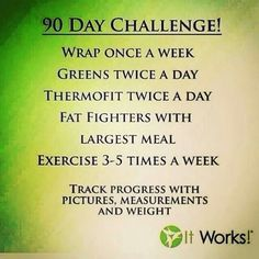 Ring in the #NEWYEAR with the results of your 90 Day Challenge!