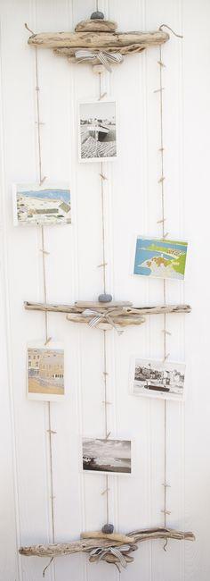 Driftwood photo hanger | Driftwood Dreaming