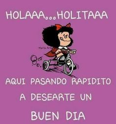 The Real GhostCrappers ! Morning Thoughts, Good Morning Wishes, Good Morning Quotes, Morning Morning, Mafalda Quotes, Quotes En Espanol, Morning Greeting, Spanish Quotes, Spanish Memes