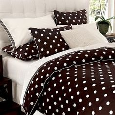 Newport Dot Duvet Cover in Select Colors | Shop interior_design, home | Kaboodle
